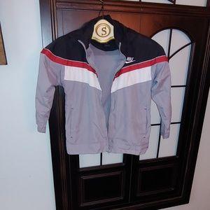 Boys Nike hooded lightweight jacket size 6